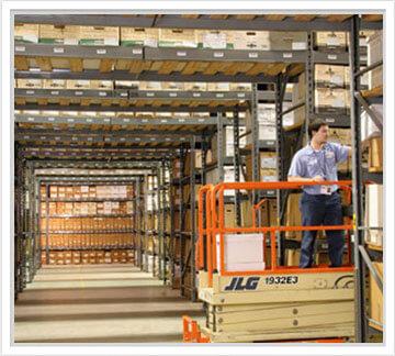 Records Storage Warehouse